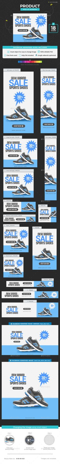 Product Sale Banners — Photoshop PSD #business #web banner • Available here → https://graphicriver.net/item/product-sale-banners/20139142?ref=pxcr