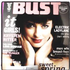 Krysten Ritter for Bust Magazine
