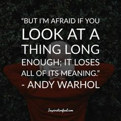 35 Unforgettable Andy Warhol Quotes and Philosophy In Life Andy Warhol Quotes, Philosophy, Meant To Be, Writing, Life, Beauty, Philosophy Books, Being A Writer, Beauty Illustration