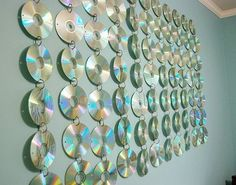 CD Hanging for Teen Rooms - 12 Great DIY Ideas To Use Your Old CDs