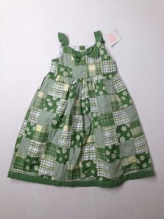 THINK GREEN! Janie And Jack Dress size 2T  54% OFF ~ $15.49