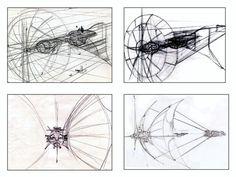 Tron concept art by Moebius