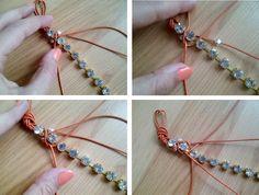 Berrilla: DIY/Rhinestone bracelet (taşlı bileklik yapımı)