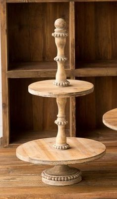 Wooden Boutique Stand
