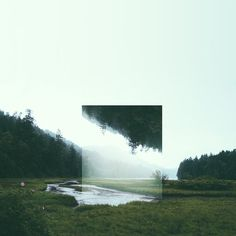 Reflected Landscapes by Victoria Siemer  http://www.thisiscolossal.com/2014/04/reflected-landscapes-by-victoria-siemer/