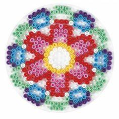 Bügelperlen Hama Stiftplatte Kreis