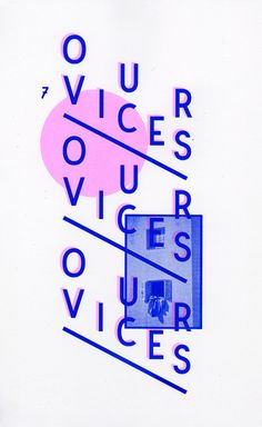 Jas Stefanski Our Vices screenprint 2012 Layout Design, Print Design, Web Design, Design Graphique, Art Graphique, Graphic Design Typography, Branding Design, Graphic Art, Poster Layout