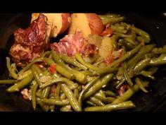 Soul Food Southern-Style Green Beans, Turkey Necks & Potatoes: String Be...