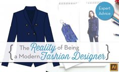 How Fashion Designers Are Portrayed in Media vs Reality by {Sew Heidi}. Learn what it's like to be a fashion designer in real life. Click through for the video and discussion.