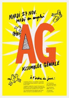 Assemblée Géniale du 27 novembre - Formes Vives, le blog