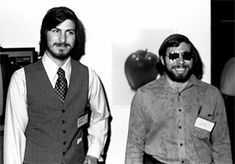 Steve Jobs teamed together with Steve Wozniak to invent one of the first ready-made personal home Apple computer.