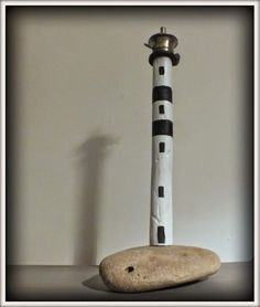 phare bois flotté, driftwood