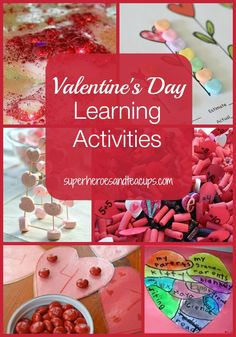 A round-up of Valentine's Day learning activities for kids.
