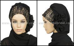 Ready To Wear Hijab  Code HT0135 by HAZIRTURBAN on Etsy, $35.00