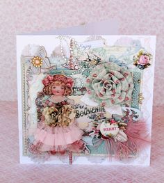 """Delightful"" card - using Delight line by Prima"