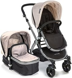 Baby Roues LeTour II TAN #Lightweight Compact #Stroller w/ Bassinet