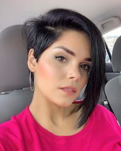 40 Cute Short Haircuts for Women 2019 – Short hairstyles for many women have a very fine hair structure. To volume the thin hair, there are some hairstyles that optimally fumble around. Bob Haircuts For Women, Bob Hairstyles For Fine Hair, Cute Short Haircuts, Hairstyles Haircuts, Weave Hairstyles, Teenage Hairstyles, Short Thin Hair, Short Hair Cuts For Women, Short Hair Styles
