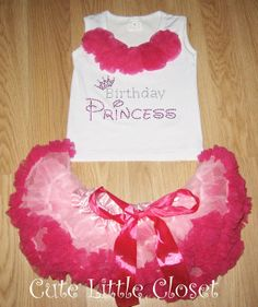 Girls first Birthday outfit Baby girl 1st by CUTELITTLECLOSET, $38.50