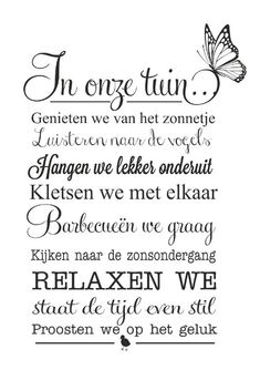 Organic Gardening Information Key: 5774980595 Dutch Quotes, Garden Quotes, Love Garden, Garden Inspiration, Garden Ideas, Positive Vibes, Silhouette Cameo, Outdoor Gardens, Texts
