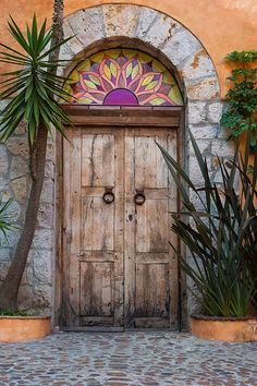 Contemporary door | San Miguel door - a study in contrasts. … | Mike Watson's photos | Flickr