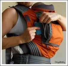If the weather is very hot a cool pack can be put in the front pocket to keep baby cool http://babycarriersforinfants,com
