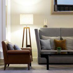 Neat arrangement, sitting room