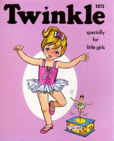 Twinkle Annual 1975 by LarkingAbout, via Flickr. I remember getting this for Christmas when I was 4 and being so excited.