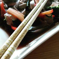 Challenge Tag 18 Misosuppe #veganforyouth #miso #misosoup #lowcarb #vegan #asian #japanese #vegetables #vegetarian #buckweat #selfmadenoodles by roquerynn