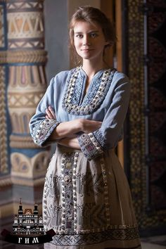 ДИКОВИНА Russian Fashion, Russian Style, Ethnic Dress, Embroidery Fashion, Summer Outfits Women, Sewing Clothes, Bohemian Style, Fashion Dresses, Womens Fashion