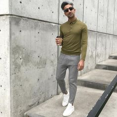 10 Times Tan From 'Queer Eye' Schooled You In Spring Style Mens Office Fashion, Tomboy Fashion, Mens Fashion, Fashion Outfits, Fashionable Outfits, France Outfits, Tan France, Simple Street Style, Men Design