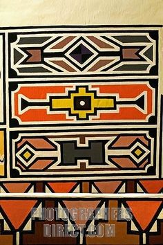 Ndebele pattern
