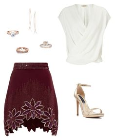 """Untitled #320"" by carolinamcury ❤ liked on Polyvore featuring L'Agence, Rodarte, Steven by Steve Madden, Modern Bride, Diane Kordas, women's clothing, women's fashion, women, female and woman"