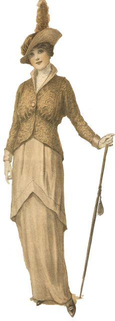 Antique Graphics Wednesday - 1900's Women's Fashion - Knick of Time