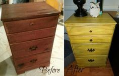 How to refinish furniture tutorial