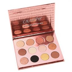 Colour Pop I Think I Love You Pressed Powder Shadow Palette ($16.00 for 0.36 oz.) is the newest, limited edition pre-made palette from the brand (and as I