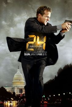 24 (TV Series 2001–2010) I have just discovered this on Netflix. Addictive to say the least; my latest binge on TV