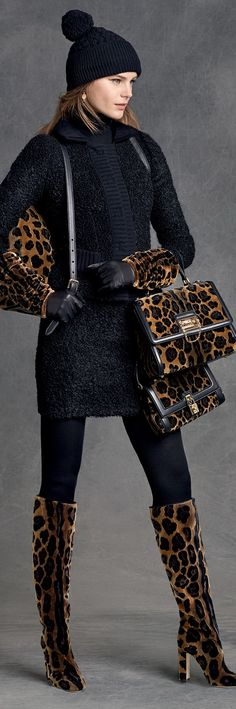 Dolce & Gabbana Women's Clothing Collection Winter 2016                                                                                                                                                     More