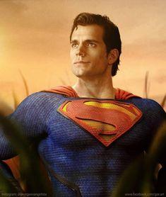 Superman Henry Cavill by George Evangelista. Arte Do Superman, Superman Henry Cavill, Superman Artwork, Superman Wallpaper, Supergirl Superman, Batman Vs Superman, Superman Stuff, Superman Cosplay, Dc Cosplay