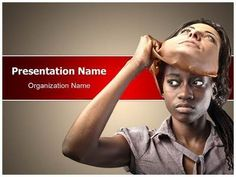 Hypocrisy Powerpoint Template is one of the best PowerPoint templates by EditableTemplates.com. #EditableTemplates #PowerPoint #Bad #Camouflage #Identity ality #Female #Plastic #Face #Change #Truth #African #Liar #Racism #Africa #Hypocrisy #Disguise #Wrong #Cant #Artificial #Removing #Woman #False #Visage #Girl  #Take Off #Mask #Ethnicity