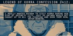 YES!!!! legend of korra confessions