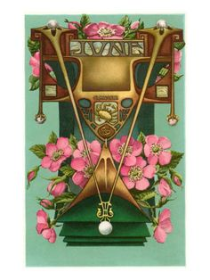 ART NOUVEAU JUNE, CANCER