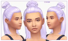 I saw my gorgeous niece Abby Mae's hair (pictured above). I knew I had to make it into a sims hairstyle so I took pictures and started on it as soon as I got home. And now it's ready to share with whoever else wants it =D