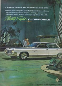 Oldsmobile Ninety Eight Ad