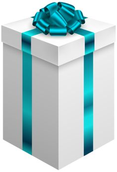 Phantasia gift boxes bows clipart pinterest clip gift box with blue bow png clipart negle