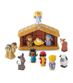 Fisher-Price Little People Nativity Set - A Little People Christmas