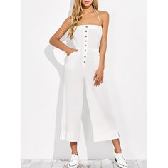 18.28$  Watch here - http://di4is.justgood.pw/go.php?t=200010701 - Wide Leg Backless Jumpsuit 18.28$