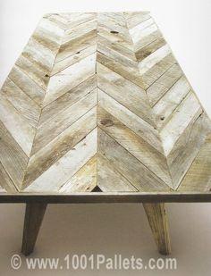 Pallet coffee table #love #pallet #DIY