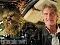 """Chewie, we're home."" Entertainment Weekly's Star Wars: The Force Awakens report will include the story of Harrison Ford's emotional first day on set. #StarWars #TheForceAwakens"