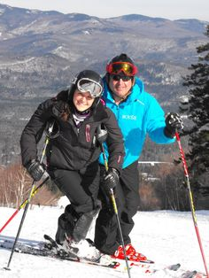 Kelsey & Ken at Sunday River for BOYNE Racing Thanksgiving Camp 2011