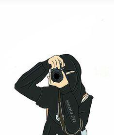 Hijab Cartoon, Cartoon Outfits, Cartoon Drawings, My Drawings, Drawing Anime Bodies, Muslim Pictures, Tmblr Girl, Tostadas, Hijab Drawing
